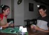 Hrát červená bere se zelenejma táckama?..