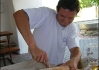Chlebíček to byl voňavózní, přímo z nedaleké továrny na chleba!