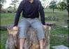 Multifunkční špalko-židlo-stoly..