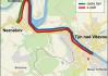 Mapa TdB etapy Týn nad Vltavou - kanoí - Kořensko (Neznášov)