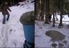 Po shlédnutí pár stopiček ve sněhu si nejsme zcela jisti, že chceme tam, kam právě míříme..