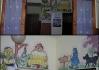 Konečně jsme spatřili fresky uvnitř hospody v Nuzicích..