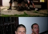 1) Kája s Pájou (vpravo).  Jsem (vlevo) smutný, protože mně klucí nevzali do party.. : ))))    2) Brůdži chytá lelky..